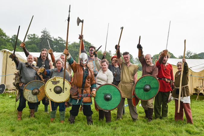 saxon warrior reenactment group